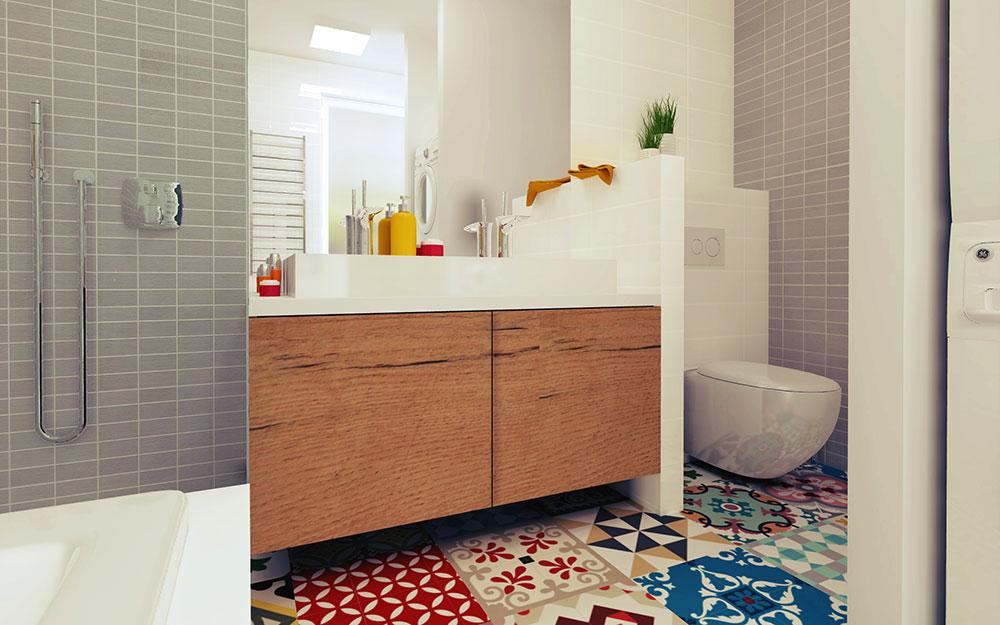 Jak prakticky uspořádat množství prvků zařízení koupelny a neztratit při tom estetickou stránku