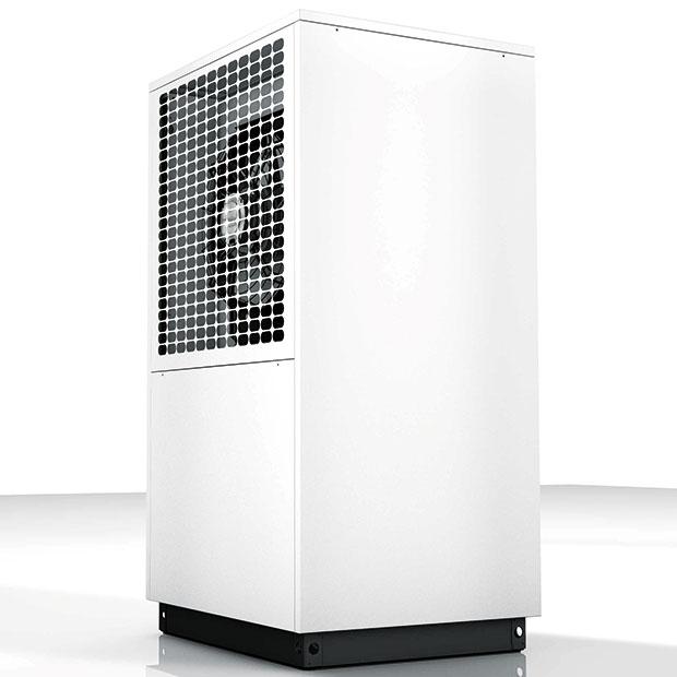 Novinkou pro rok 2015 je tepelné čerpadlo vzduch-voda DIMPLEX LA 9S-TUR od firmy Termo komfort, určené pro venkovní instalaci. Čerpadlo má topný výkon při (A2/W35)7,2 kW, topný faktor při (A2/W35)4,2. Má sníženou hladinu akustického tlaku, jen53,0 dB (A). Lze jej využít jak pro vytápění, tak ipro chlazení. FOTO TERMO KOMFORT