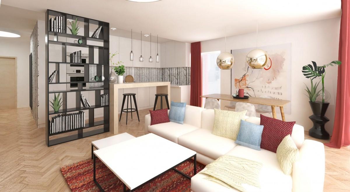 Zeleň v interiéru je plnohodnotnou součástí interiérového návrhu. Vytvoří na prázdných místech vítané akcenty. NÁVRH LUCIA KUŠNÍROVÁ