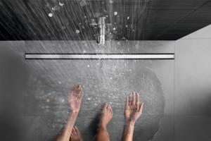 Sprchové kanálky Geberit CleanLine pro sprchy v úrovni podlahy