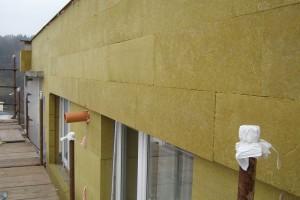 Zateplení kontaktní fasády minerální vatou – Montážní postup