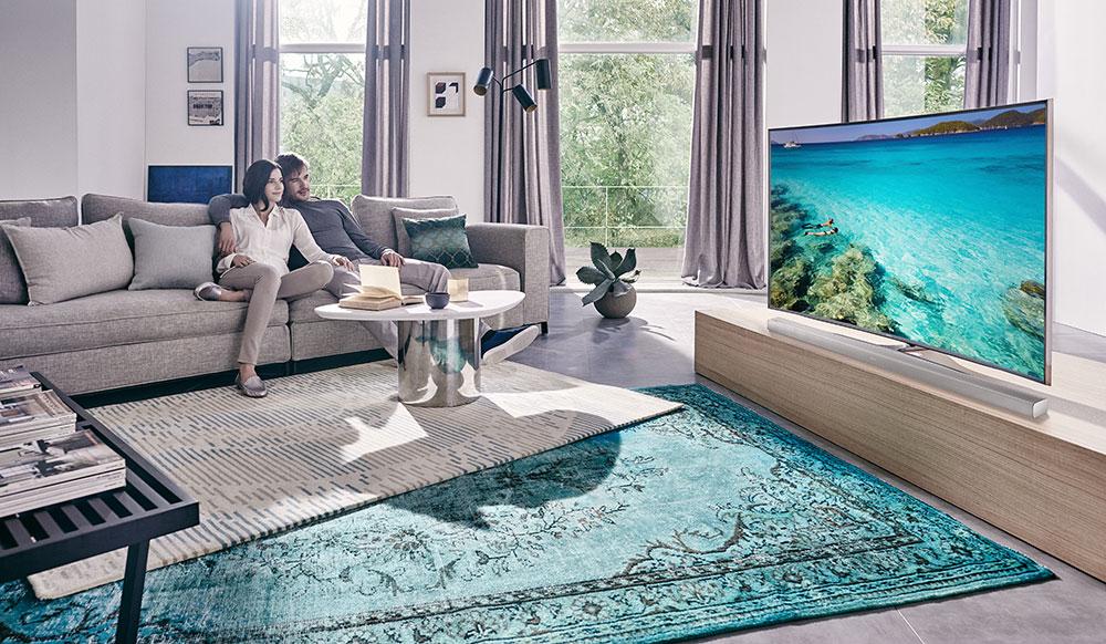 Televizor jako designový kousek interiéru