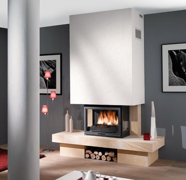 Zdroje tepla produkují teplo pro vytápění domů a ohřev teplé vody. Pokud je teplo vyráběno pomocí spalování paliva, provází výrobu tepla emise znečišťujících látek.