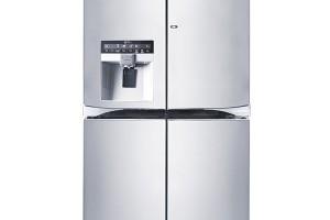 LG GMJ916NSHV, americká chladnička typu Door in door, Total NoFrost, inteligentní diagnostika, pohlcovač pachů, třída A+, objem 705 l, rozměry 179,7 × 91,2 × 75,8 cm, od 70 986 Kč