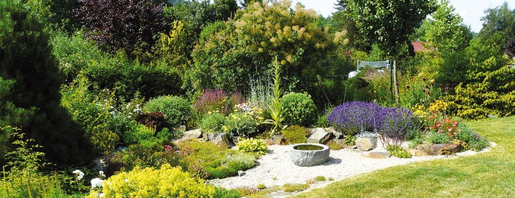 Přírodní zahrada na okraji středočeské Libře