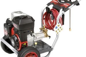 Benzinová tlaková myčka Briggs & Stratton PW 2900, na vysoce znečištěné povrchy, pracovní tlak až 200 bar, 23 000 Kč