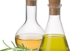 Souprava na olej aocet Simax vmoderním laboratorním designu, 250 ml, borosilkátové sklo, Kavalierglass, 120 Kč