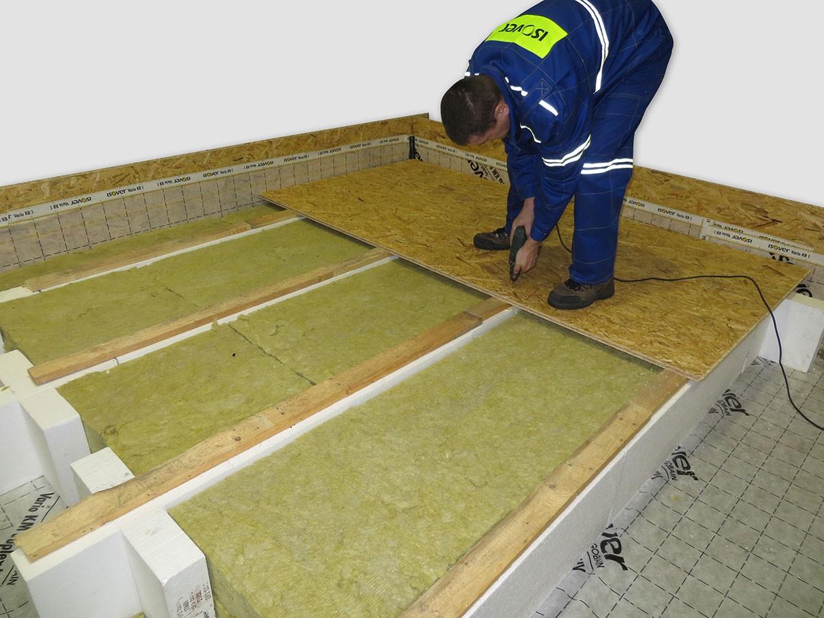 Zateplení pochozí podlahy nevytápěné půdy