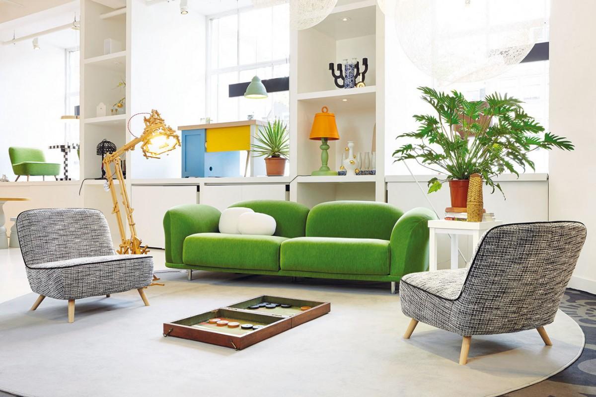 Obývací pokoj je ideální situovat na slunečnou stranu – jih, případně jihozápad či západ. FOTO MOOI