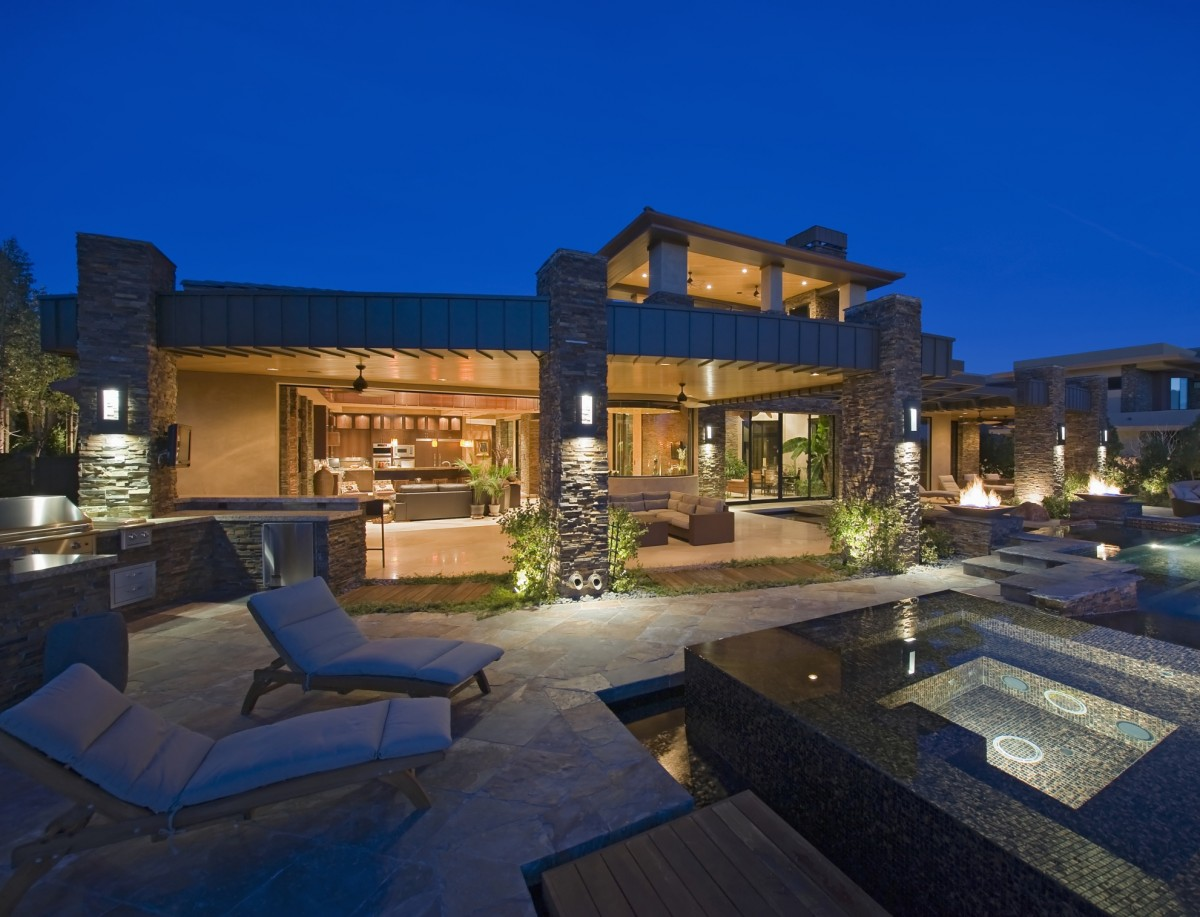 Wollaton Hall And Deer Park likewise Okanagan Lake Waterfront Home With Minimalist Elegant Design furthermore Outdoor Pool And Pool House Traditional Pool Philadelphia together with Paintings moreover House Mansion Pool Modern Interior High Tech Yard 4407. on lake house lighting