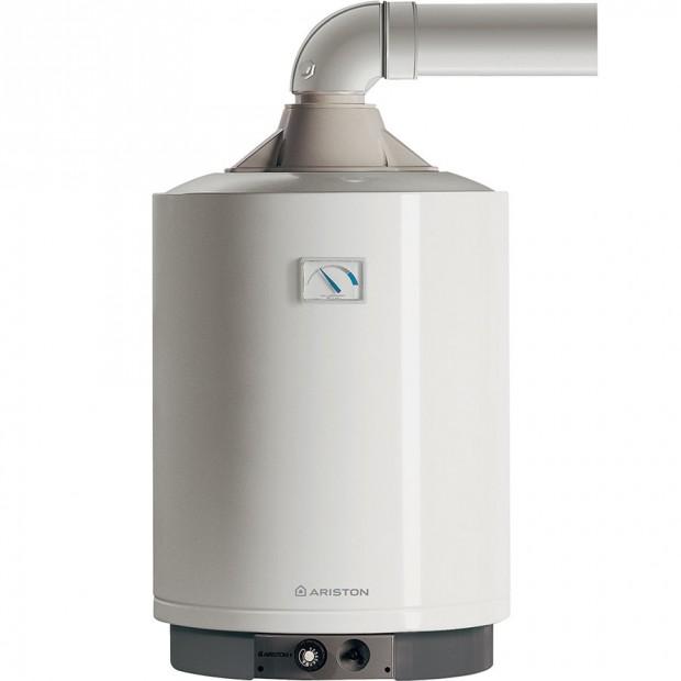 Plynový zásobníkový ohřívač vody Ariston 80 VFB můžete nainstalovat kdekoli vsouladu splatnými normami − není nutná el. přípojka.
