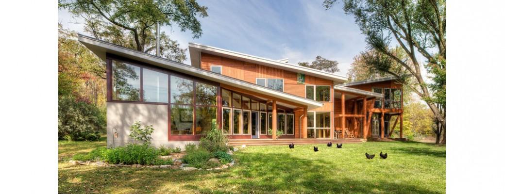 Rekonstrukce farmářského domu navrátila obyvatelům zdraví a pohodu