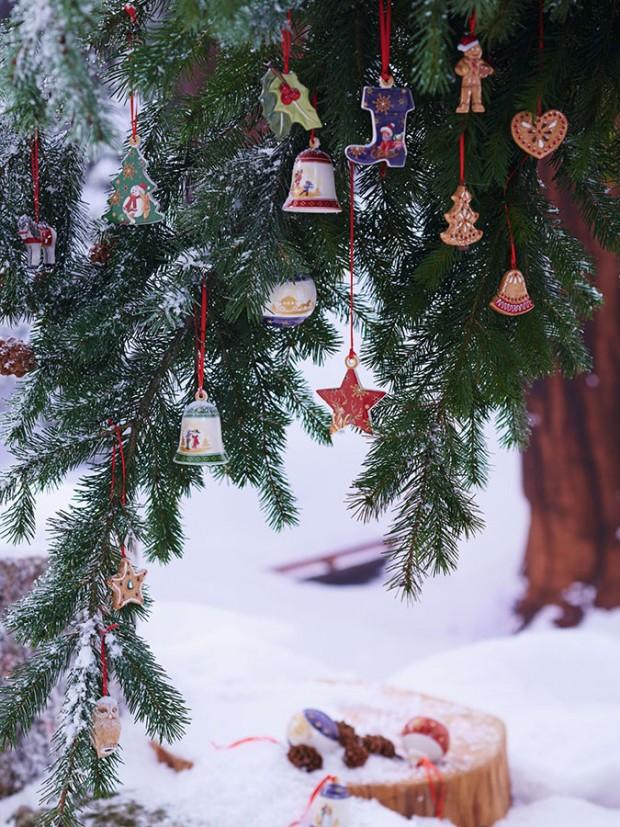 Vánoční ozdoby My Christmas Tree, Villeroy & Boch, prodává Luxurytable.cz, od 300 Kč/ks
