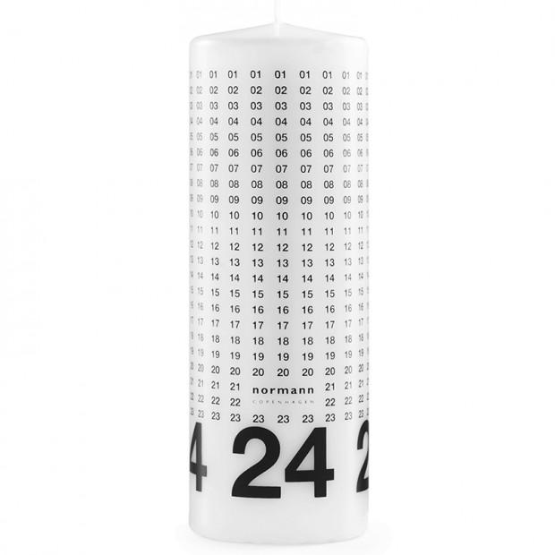 Adventní svíčka, Normann Copenhagen, prodává Designville.cz, 289 Kč