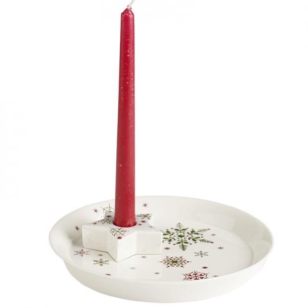 Miska na cukroví se svícnem New Modern Christmas, Villeroy & Boch, prodává Luxurytable.cz, 920 Kč