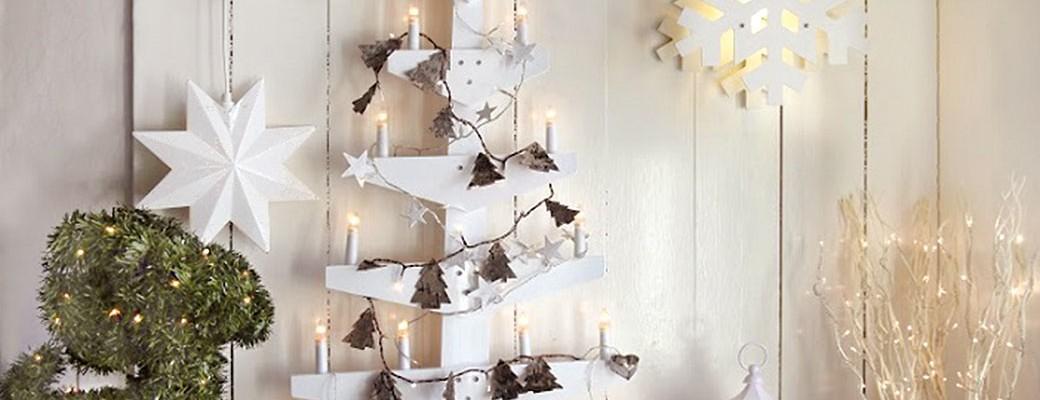 8 alternativních vánočných stromků