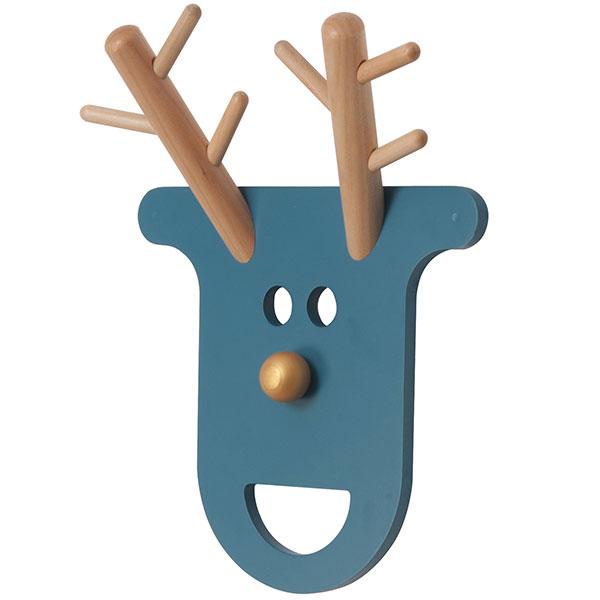 Věšák O Deer Petrol Blue, Present Time, prodává Bonami.cz, 599 Kč