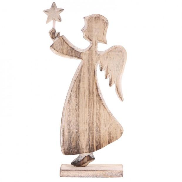 Dřevěný andílek Laponia Angel, Sass & Belle, prodává Zoot.cz, 269 Kč