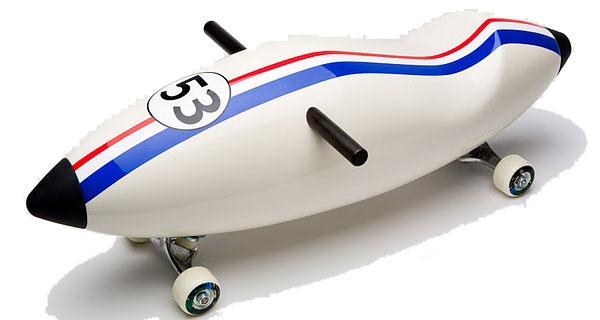 Designové dětské odrážedlo Torpedo, Snop, prodává Designpropaganda.com, 19 158 Kč