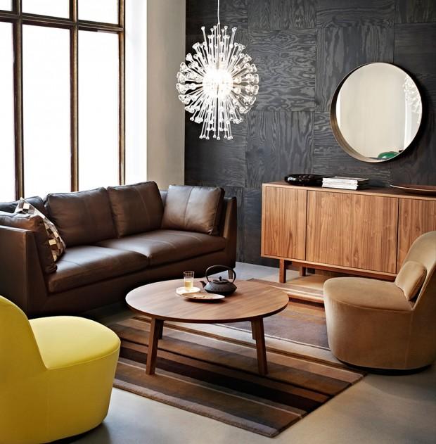Znovuobjevená 60. léta panují ivkolekci Stockholm značky IKEA. Nábytek adoplňky inspirované tímto obdobím se současným puncem vhodně zapadnou ido moderního městského interiéru apříjemně ho zahřejí. FOTO IKEA