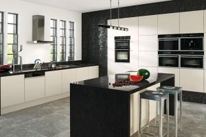 Moderní spotřebiče v dokonalém souladu s designem nábytku a kuchyně