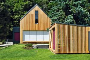 Nové technologie a materiály u dřevostaveb