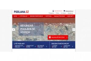 Nový web Podlaha.cz: Vše o litých podlahách