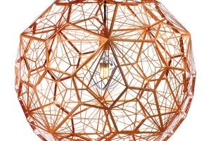 Závěsné světlo Etch Web, Tom Dixon, průměr 40cm, výška 45cm, Bulb, 48 267 Kč