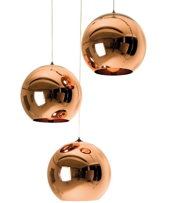 Závěsné svítidlo Pendant System Copper, Tom Dixon, Bulb, od 10 387 Kč