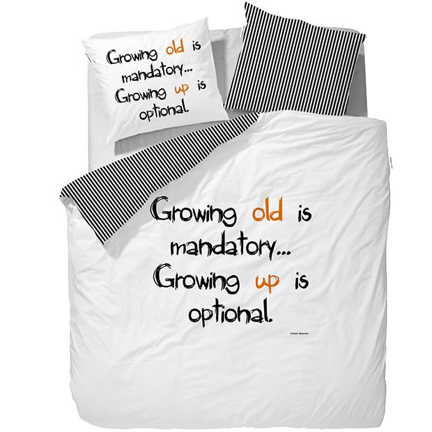 Pro vtipálky. Povlečení Growing Up, Westwing.cz, 949 Kč