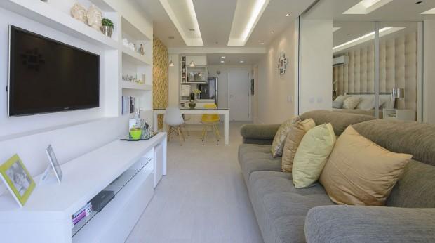 Inspirujte se elegantní rekonstrukcí 45m² bytu mladé právničky
