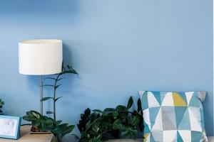 Pohodlný taburet doplněný polštářem, květinou a hodinami na stěně vytváří na předělu kuchyně a obývací části příjemné zátiší. FOTO DANO VESELSKÝ