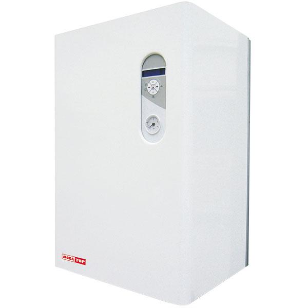 Kotel ELECTRA Komfort je určen kvytápění objektů stepelnými ztrátami do 22,5 kW, umožňuje plynulou regulaci výkonu od 2,5 kW. Příprava TUV vpřípadě propojení kotle snepřímotopným zásobníkem. Účinnost 99 %, systém spínání pomocí HDO, podpora ekvitermní regulace, funkce EOP (externí ovládání příkonu) – ochrana proti přetížení hlavního jističe, ovládání termostatem nebo mobilním telefonem pomocí GSM modulu, možnost zapojení do kaskády. FOTO MORA TOP