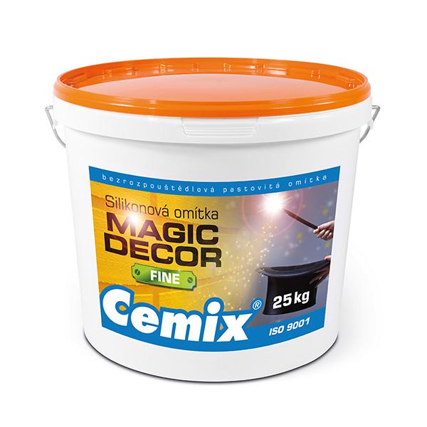 Magic Decor Fine – nejjemnější omítka z nové produktové řady kreativních omítek.