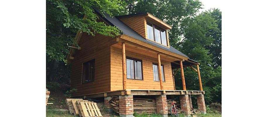Jak jsem si postavil chatu svépomocí