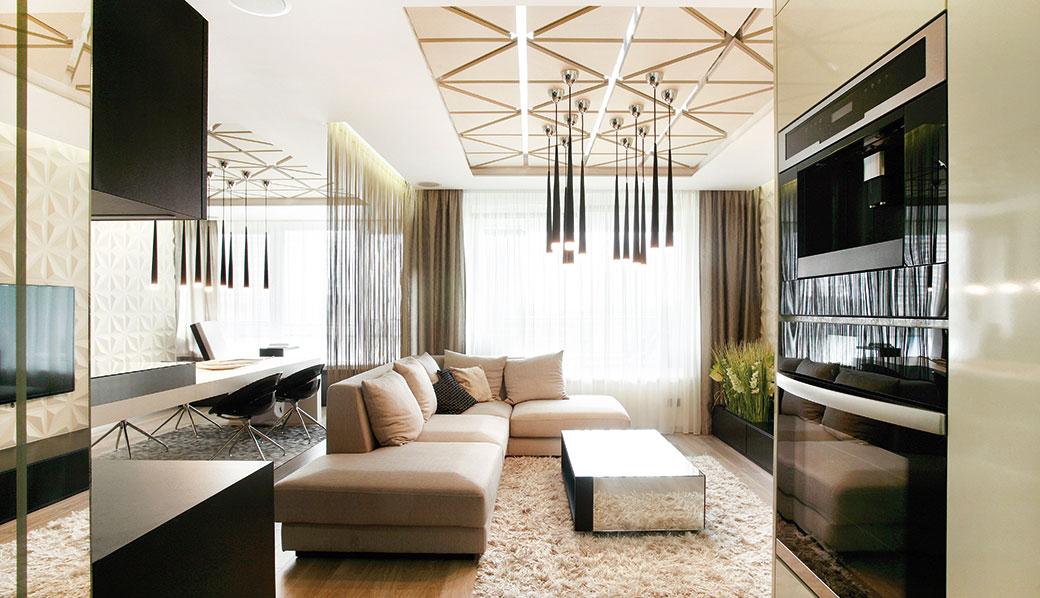 Moderní rekonstrukce prostorného třípokojového bytu v Bratislavě