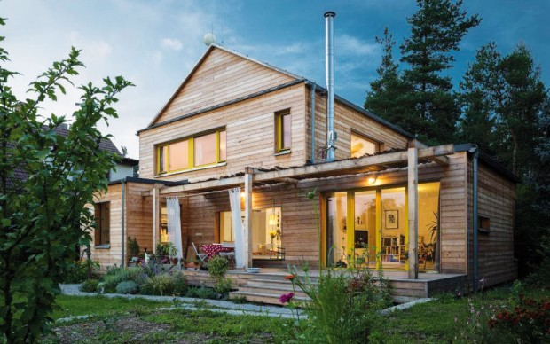 Rodinný dům A3E postavený zpanelů NOVATOP.
