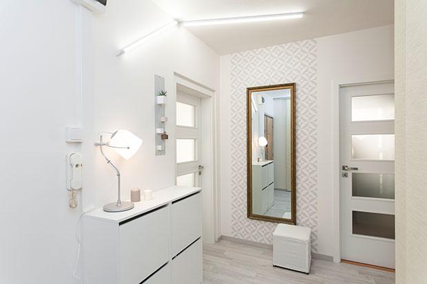 Proměna bytu v pořadu Jak se staví sen s EBC dveřmi, foto SEPOS, spol. s r.o.