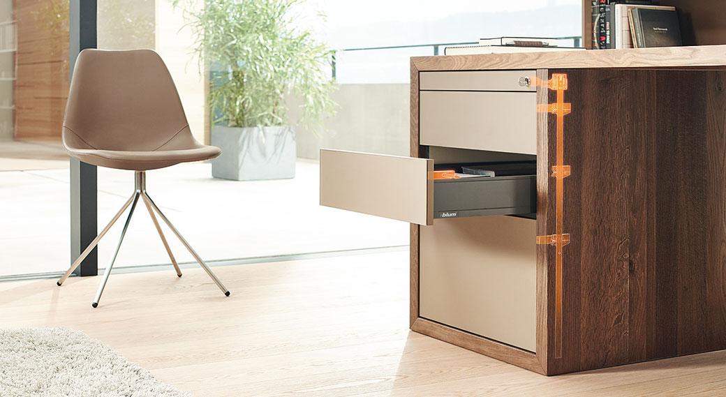 CABLOXX – více designu pro uzamykatelný nábytek