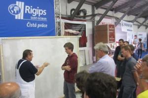 Rigips vás naučí jak pracovat se sádrokartonem