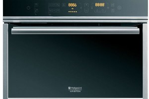 Hotpoint Luce MSK 103 X HA S, vestavná parní trouba, kompaktní provedení (výška 45 cm), automatické ochlazování trouby, 39990 Kč