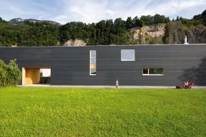 Rodinný dům s délkou až 37 m vychází z proporcí pozemku