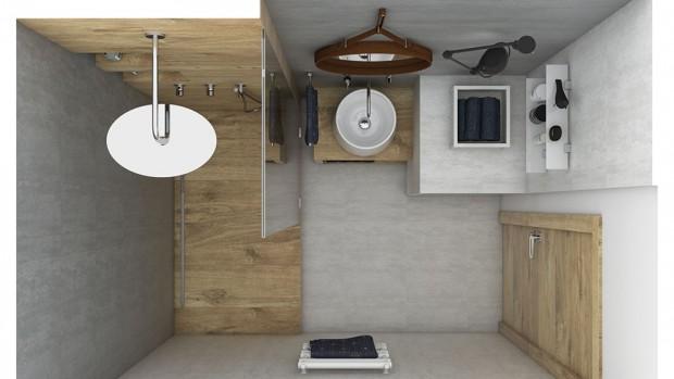 Praktické nápady pro malou koupelnu