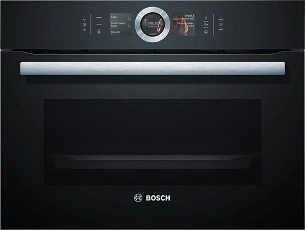 Bosch CSG656RB1, Série 8, kompaktní parní pečicí trouba se speciálním povrchem automaticky absorbujícím nečistoty zpečení, 39990 Kč