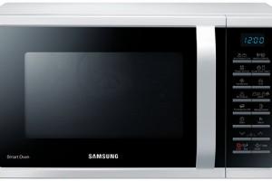 Samsung MC28H5015AW/EO, mikrovlnná trouba santibakteriálním vnitřním povrchem, 15 programů pro zdravé vaření apečení, 4990 Kč