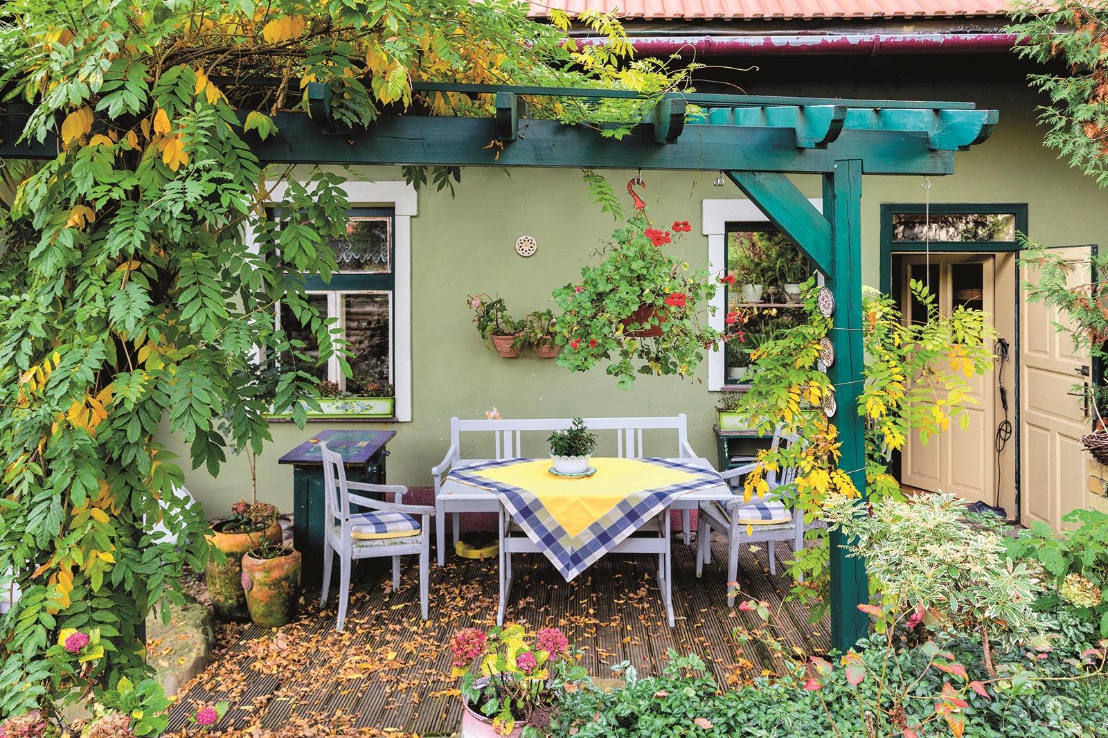 Lepší malá zahrada ve svahu než žádná