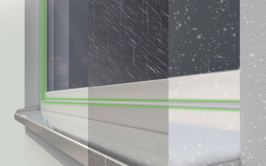 Úsporná plastová okna a dveře německé kvality Schüco Living s unikátní technologií těsnění