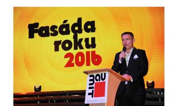 Slavnostní vyhlášení Fasády roku 2016