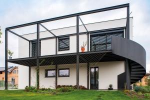 Bašť, rodinný dům s autodílnou Stemep & Tesař architekti