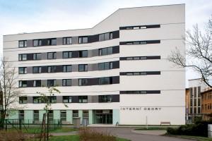 """Slezské nemocnice, pavilon """"N"""" OSA projekt, s. r. o."""